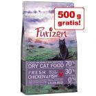 2 kg + 500 g gratis! 2,5 kg Purizon kattefoder