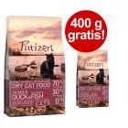 2,5 kg + 400 g på köpet! 2,9 kg Purizon torrfoder katt