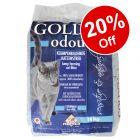14kg Golden Grey Odour Cat Litter - 20% Off!*