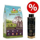 12 kg GranataPet Natural Taste + 250 ml Oleum Canis Huile de cumin noir à prix avantageux !