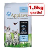 6 + 1,5 kg gratis! Applaws, 7,5 kg