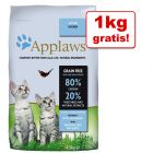1 kg gratis! 7,5 kg Applaws hrană uscată pentru pisici