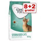 8 + 2 kg gratis! 10 kg Concept for Life tørfoder