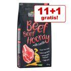 11 + 1 kg gratis! 12 kg Greenwoods hrană uscată pentru câini