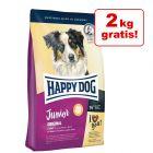 8 + 2 kg gratis! 10 kg Happy Dog Supreme Young