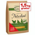 15 + 1,5 kg gratis! 16,5 kg Lukullus Naturkost Pui & orez integral