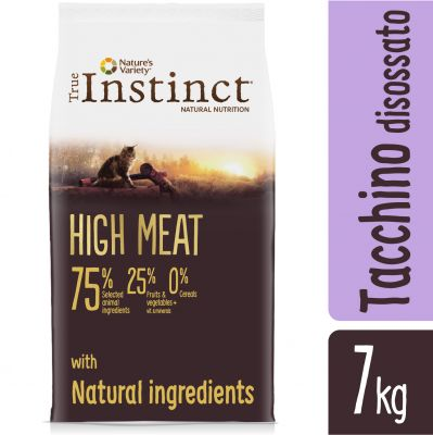6 + 1 kg gratis! 7 kg Nature's Variety True Instinct