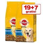 19 + 7 kg gratis! 26 kg Pedigree Vital Protection Senior 8+