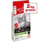 10 + 2 kg gratis! 12 kg Purina PRO PLAN Sterilised Adult