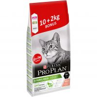 10 + 2 kg gratis! 12 kg Purina Pro Plan Sterilised Adult