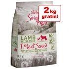 12 + 2 kg gratis! 14 kg Purizon Single Meat hrană uscată pentru câini