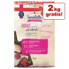2 kg gratis! 12 kg Sanabelle Adult mit Geflügel