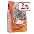 8 + 2 kg gratis! 10 kg Smilla kattefoder