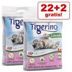 22 + 2 kg gratis! 24 kg Tigerino Canada Katzenstreu