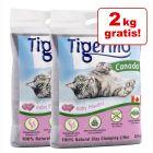22 + 2 kg gratis! 24 kg Tigerino Canada Nisip pentru pisici
