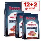 12 + 2 kg gratis! Rocco Mealtime hrană uscată câini