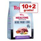 10 + 2 kg gratis! Rocco Mealtime 12 kg. De la 11.94 lei / Kg
