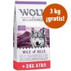 12 + 3 kg ¡gratis! Wolf of Wilderness Adult pienso para perros
