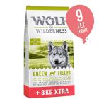 12 + 3 kg gratis! Wolf of Wilderness Adult suha hrana 15 kg