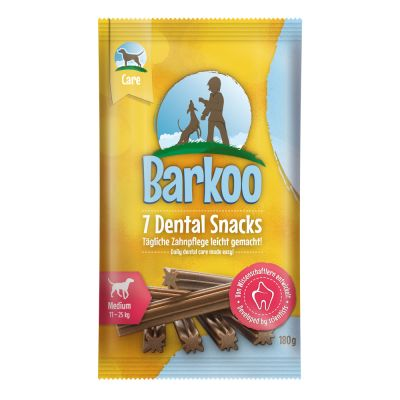 10 kg Green Petfood +  Barkoo Dental Snacks, dla średnich psów, 180 g gratis!