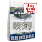 5kg Greenwoods Natural Clay Cat Litter with Zeolite + 1kg Free!*