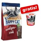 10 kg Happy Cat + Smilla Hearties prigrizki za nagrado gratis!