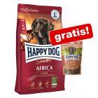 4 kg Happy Dog Supreme + 100 g Toscana Snack gratis!
