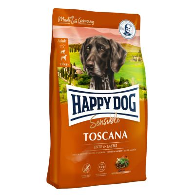 8 kg Happy Dog Supreme Sensible Francia + 50 g Xmas Snack Pollo gratis!