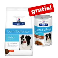 12 kg Hill's Prescription Diet + 3 lattine di umido gratis!