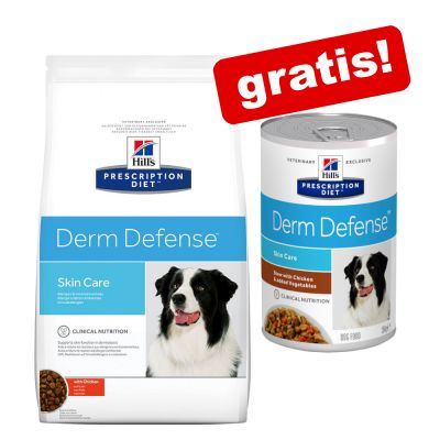12 kg Hill's Prescription Diet +  3 x Nassfutter gratis!