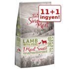 11 + 1 kg ingyen! 12 kg Purizon Single Meat