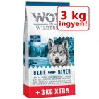 12 + 3 kg ingyen! 15 kg Wolf of Wilderness Adult