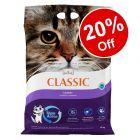 14kg Intersand Classic Cat Litter - 20% Off!*