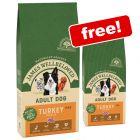 15kg James Wellbeloved Adult Turkey & Rice Dry Dog Food + 2kg Extra Free!*