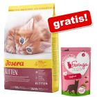 2 kg Josera + Feringa Crunchy Bites, iaurt, 30 g gratis!