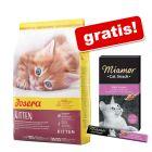 2 kg Josera + gratis Miamor Cat Snack Cremă cu malț!