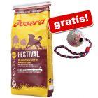 15/18 kg Josera + minge Trixie cu șnur gratis!