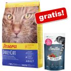 10 kg Josera + Smilla Soft Sticks păstrăv și merișoare, 50 g gratis!