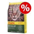 10 kg Josera-kissanruoka erikoishintaan!