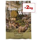 2 kg kaupan päälle! 14,2 kg Taste of the Wild -koiranruoka