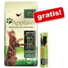 2 kg/1,8 kg Applaws + Cosma Original Snackies gratis!