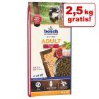 10,5/12,5 kg + 2/2,5 kg gratis! 12,5/15 kg Bosch