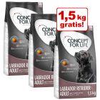 3 kg + 1,5 kg gratis! 4,5 kg Concept for Life hundefoder