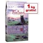 5,5 kg + 1 kg gratis! 6,5 kg Purizon suha hrana za mačke bez žitarica