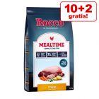 10 kg + 2 kg gratis! 12 kg Rocco Mealtime Trockenfutter