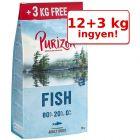 12 kg + 3 kg ingyen! 15 kg Purizon