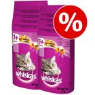 20 kg + 8 kg kaupan päälle! 28 kg Whiskas kissanruoka