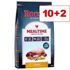 10 kg + 2 kg kaupan päälle: Rocco Mealtime koiranruoka 12 kg