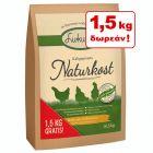 15 + 1,5 kg δωρεάν! 16,5 kg Lukullus Naturkost Κοτόπουλο
