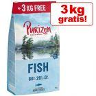 12 kg + 3 kg på köpet! 15 kg Purizon